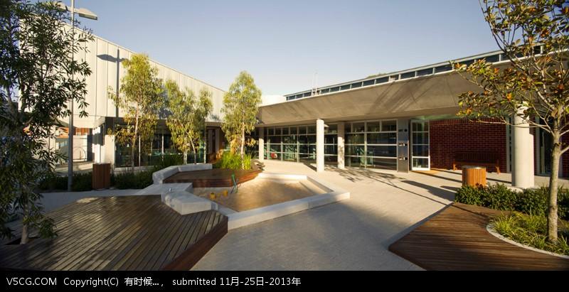 克兰布鲁克学校景观设计图片
