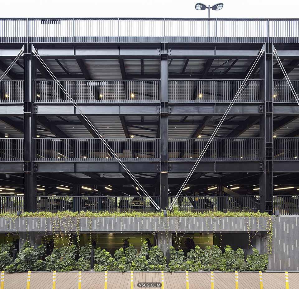 式设计 乌来乡立体停车场增建案