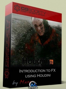 Houdini中FX使用技术视频教程 CGWorkshops Introduction to FX using Hou...