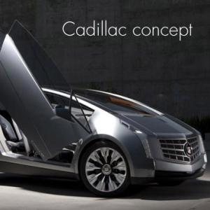 凯迪拉克都市豪华概念车高清图片